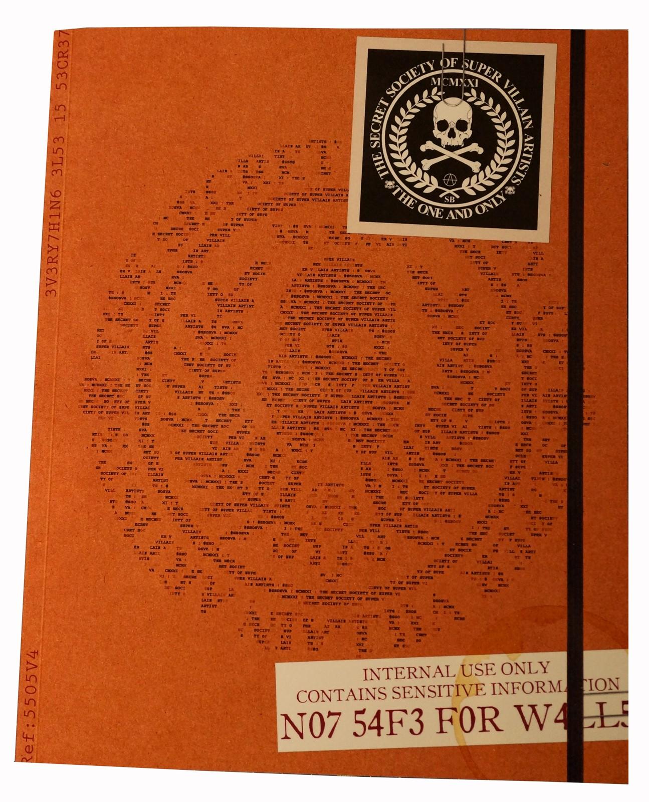 SSOSVA BOOK - NOT SAFE FOR WALLS