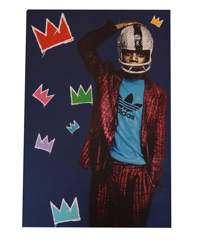 Jean-Michel Basquiat - Original Canvas by Lemak