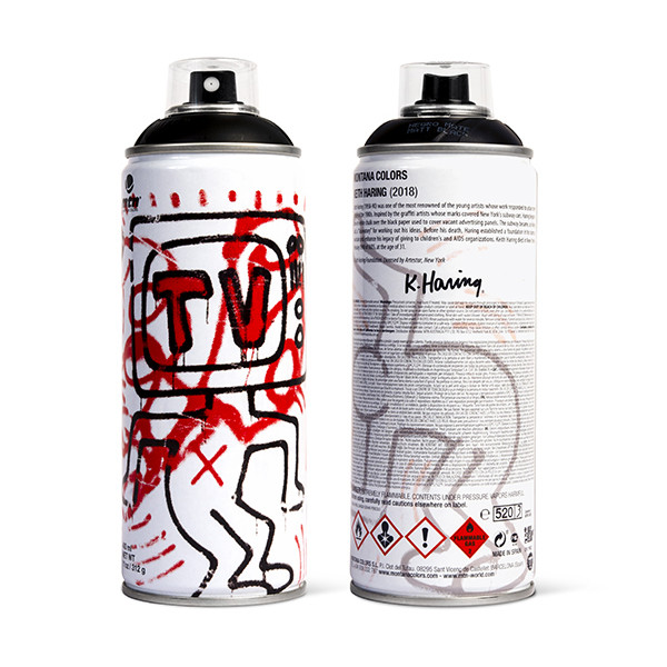 MTN LIMITED EDITION - KEITH HARING (BLACK)