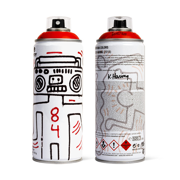 MTN LIMITED EDITION - KEITH HARING (INTENSE RED)