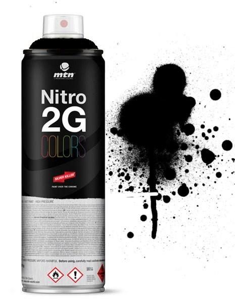 MTN MONTANA - NITRO 2G - 500ml (CHROME)