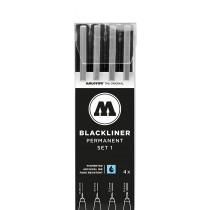 MOLOTOW - BLACKLINER SET 1 (4 MARKERS)