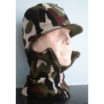 BALACLAVA WITH SKIP CAMO SPRAY MASK