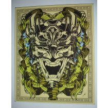 DRIFT TRIBAL FACE - LIMITED EDITION CANVAS