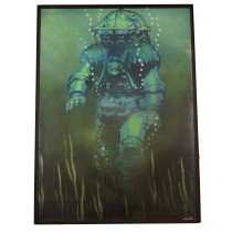 """DEEP SEA DIVER"" by MOS SHAW"