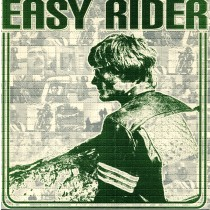 EASY RIDER - BLOTTER ART