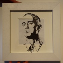 """EMINEM BLACK AND WHITE"" by HELEN MARTIN"
