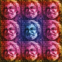 JERRY GARCIA - BLOTTER ART