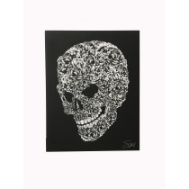 FPS - FLOWER SKULL CANVAS (SMALL)