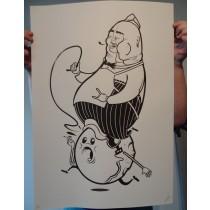 """FAT-RIDER"" by CONZO THROB"