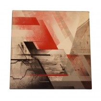 """ABSTRACT RED 001"" by CATCH-22"