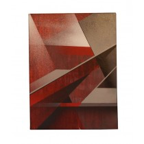 """ABSTRACT SMALL RED 003"" by CATCH-22"