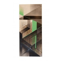 """ABSTRACT TALL GREEN 004"" by CATCH-22"