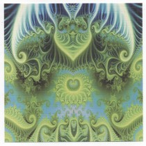 BLUE GREEN PSYCHADELIC - BLOTTER ART