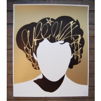 """FRANK SINATRA'S GOLD TAG NO FACE"" Hand-finished Print by PURE EVIL"