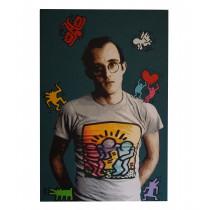 Keith Haring Original Canvas by Lemak