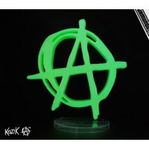 "Kozik x Jamungo Anarchy is 8"" Glow in the Dark"
