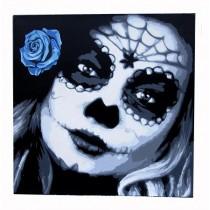 """LA ROSA AZUL"" by RIP"