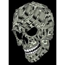 MONEY SKULL PRINT - A3 (mm x mm)