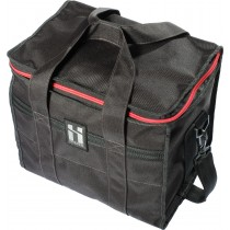 Mr SERIOUS - SHOULDER BAG - BLACK / RED