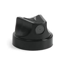 BLACK w BLACK DOTS CAP