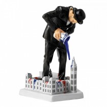 ROYAL DOULTON - NICK WALKER - VANDAL vs PARLIAMENT FIGURE