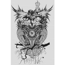 OWL PRINT - A2