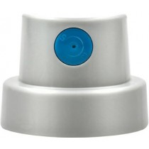 Soft grey/blue spray cap