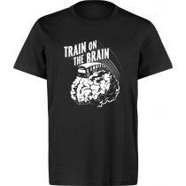 UNDERPRESSURE - TRAIN ON THE BRAIN T-SHIRT (LARGE)